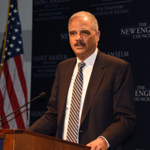 """Inside Sources 2020: Eric Holder """"Seriously Considering"""" Presidential Bid"""