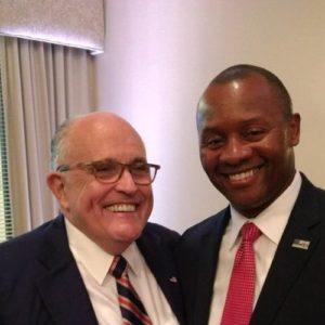 "On Eve of Giuliani Event, Eddie Edwards Praises President Trump's ""Political"" Character"