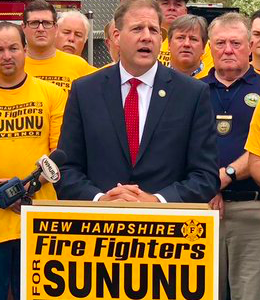"""Sununu Plays The """"Law And Order"""" Card"""