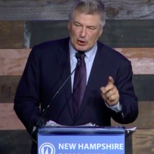 "Alec Baldwin Tells NH Dems: ""We Need to Overthrow the Government of Donald Trump"""