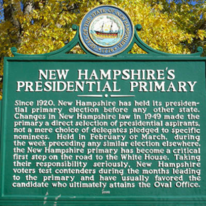 Three Reasons Why 2020's FITN Primary Could Be New Hampshire's Last