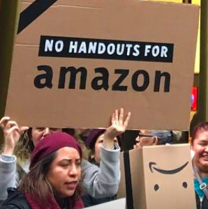 Amazon Paid Zero Corporate Taxes Last Year. Why Aren't 2020 Democrats Talking About It?