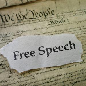 LUCAS: Freedom of Speech — A Time for Choosing