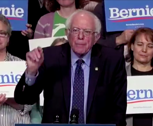 Sanders Rips From Trump Playbook on Campaign Stump