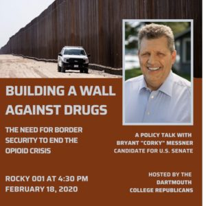 Dartmouth College Republicans Cancel 'Opioids and Border Wall' Event After Threats From Progressives