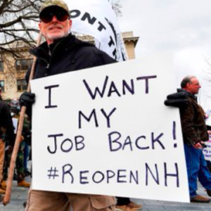Gov. Sununu's Hometown Bans Picketing at Residences Following Protests