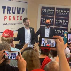 'Disgusting:' Eric Trump Calls Out NHDems Who Refused to Stand for Anthem