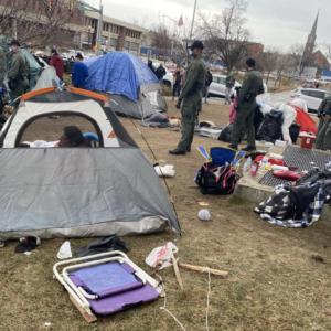 Homeless Encampment Creates Headaches for Craig, Opportunity for NH Progressives