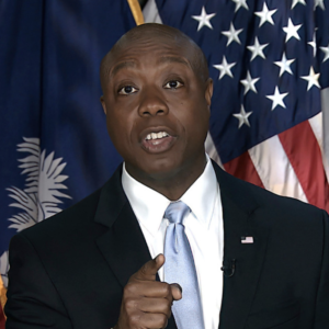 NH Republicans Talk Up Tim Scott '24 In Wake of Biden Rebuttal