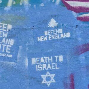 COMMENTARY: Racist Graffiti Story Highlights NHDems' Strange Silence on Anti-Semitism