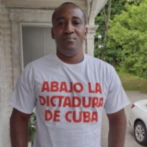A Cuban Asylum Seeker in NH Speaks Out: 'Abajo la Dictadura de Cuba!'